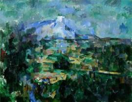 La Montaña Sainte-Victoire vista desde Lauves