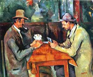 Los jugadores de cartas