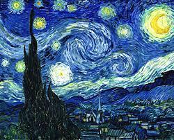 Noches estrellada Van gogh