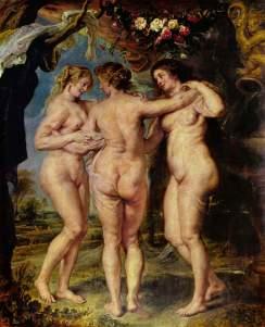 Rubens, las 3 gracias