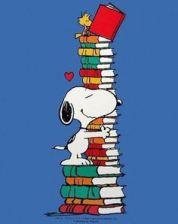 Snnopy y libros